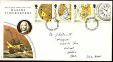 GB FDC 1993 Marine Timekeepers, Stevenage FDI #C37309