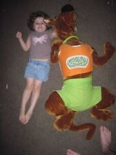 "PLUSH STUFFED LARGE HUGE SCOOBY DOO SPORTS ANIMAL rare TOY DOG DOLL 3FT 8"" 4ft"