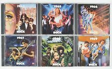 Time Life Classic Rock CDs Lot of 6 1964-1969 OOP Original Release 5 NEW 1987-88