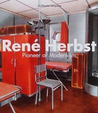LIVRE : RENÉ HERBST (art deco metal/steel furniture/meuble,interior