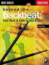 Al di là della BackBeat Rock & FUNK JAZZ & latina imparare DRUMS MUSIC book & CD