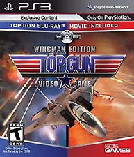 Top Gun Wingman Edition The Game + BLU RAY MOVIE - Playstation 3 PS3 Complete