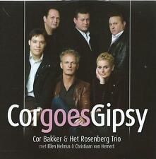 JAZZ CD album COR BAKKER GOES GIPSY ROSENBERG TRIO