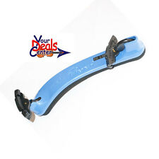 Everest Spring Collection COLLAPSIBLE  Violin Shoulder Rest  4/4-3/4 Blue