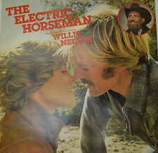 "OST - SOUNDTRACK - THE ELECTRIC HORSEMAN - WILLIE NELSON  12"" LP (M40)"
