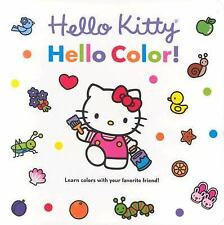 Hello Kitty, Hello Color! Board Book-ExLibrary