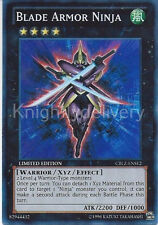 Yugioh Authentic Kaze Deck - Blade Armor Ninja - Number 12: Crimson - 42 Cards