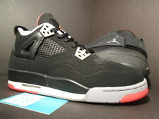 Nike Air Jordan IV 4 XIX 19 Retro COUNTDOWN CDP BLACK GREY RED BRED CEMENT 7Y 7