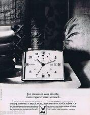 PUBLICITE ADVERTISING 095 1971 Jaz transistor vous réveille