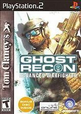 Ghost Recon Advanced Warfighter (Sony Playstation 2, 2006) GAME DISC ONLY -