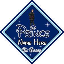 Personnalisé disney prince à bord voiture signe-bébé à bord frozen kristoff db