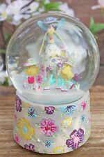 GISELA GRAHAM EASTER PASTEL PETAL FAIRY CHICK MUSIC WATER DOME