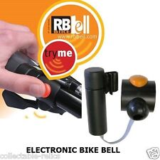 Electronic Bell Loud Horn Siren Bike Bicycle Mobility Scooter Pram RB Bike 1242