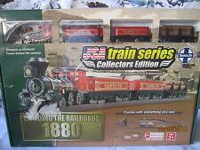 """GARDEN VILLAGE HOUSE """"BUILDING the RAILROADS 1880 TRAIN SET"""" +DEPT 56/LEMAX info"""