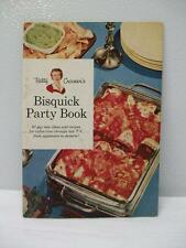 Vintage Betty Crocker's Bisquick Party Book - 1957