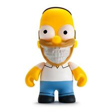 "THE SIMPSONS GRIN 3"" HOMER DESIGNER VINYL MINI FIGURE BY KIDROBOT RON ENGLISH"