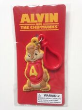 Alvin and the Chipmunks Alvin Keychain 20th Century FOX 2011 Bendable Rubber NEW