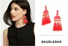 $38 Baublebar Dali Drop Dangling Earrings Coral