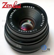 Zonlai 35mm F/1.8 HD MC Manual Focus Lens f/ Sony a7 a7r a7s a5000 a6000 NEX