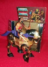 He man Masters of the universe jitsu and nightstalker with nightstalker box.