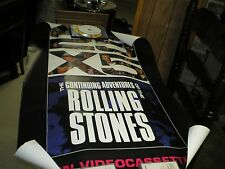 Vintage Rolling Stones 25 X 5 Promo  Poster 1989 Vg Last one