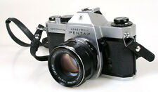 PENTAX SPOTMATIC SP II W/ 55MM F1.8 LENS IN FITTED CASE