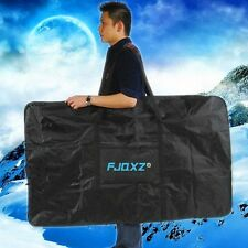 "26"" 27.5"" Mountain Bike Transport Bag Travel Bicycle Carrying Case 1680D w Strap"