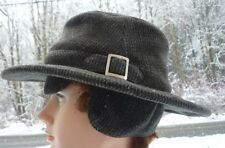 7 1/4 TILLEY ENDURABLES WINTER WOOL HAT CANADIAN MADE EARFLAP HAT WOOL WINTER