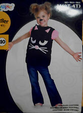 Very Cute Black Cat Halloween Costume 3T-4T (H-2005)