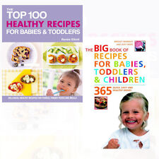 Baby Recipe(Easy and Healthy Dishes) Collection 2 Book Set The Top 100 Healthy