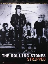 Rolling Stones 1995 Stripped Original Promo Poster
