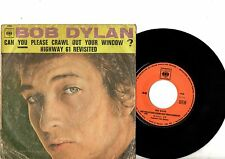 BOB DYLAN 7' PS Can You Please Crawl Out France JUKEBOX CBS 1900 French rare 45