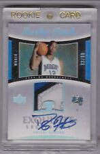 2004-05 UD EXQUISITE COLLECTION DWIGHT HOWARD ROOKIE PATCH AUTO 92/99