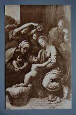 R&L Postcard: Louvre, La Grande Sainte-Famille de Francois, Santi