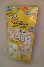 Spongebob Self-Stick Photo Frame Decor kit  Kid Room Decor New Removable
