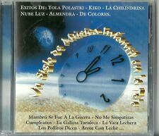 Un Siglo De Musica Infantil En La Tele  Volume 12 Latin Music CD New