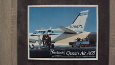 Catalogue Beechcraft Queen Air A65 (en anglais)