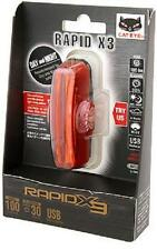 CATEYE TL-LD720-R RAPID X3 100-Lumens Bicycle Rear Tail Light taillight RED