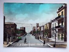 SAN FERDINANDO DI PUGLIA Via Nazionale animata Foggia vecchia cartolina