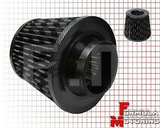 3'' INLET TURBO CARBON FIBER AIR FILTER RX7 RX8 MIATA MX5 MAZDASPEED 3 6 PROTEGE
