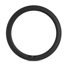 Clearance 700C 23mm width 60mm depth tubular carbon rim 3K matte 20 or 24 holes