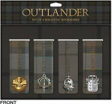 Outlander Magnetic Bookmark Set (2016, Print, Other)