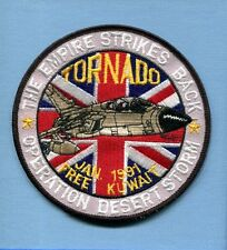 RAF ROYAL AIR FORCE PANAVIA TORNADO DESERT STORM Non USAF Squadron Jacket Patch