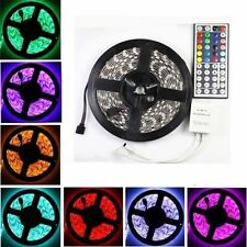 5M 300 LED RGB 5050 SMD Light Strip Flexible Nonwaterproof + 44 Key IR Remote