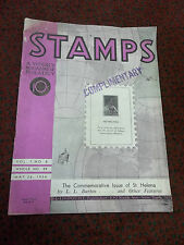 vintage STAMPS MAGAZINE May 26, 1934 issue Commemorative issue of St. Helena