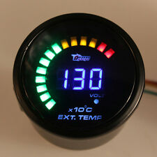 "COLORFUL 2""52MM CAR EGT EXHAUST GAS TEMP TEMPERATURE GAUGE ANALOG LED DIGIT NEW"