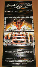 DADDY YANKEE Barrio Fino promotional record store vinyl banner, 18x41, 2005, EX