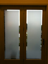 "Privacy frosted glass decal 70ft x 4ft (840"" x 48"") shower window VVIVID decor"