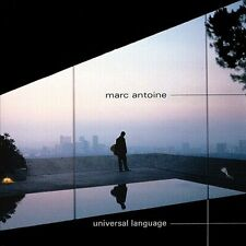 Universal Language by Marc Antoine CD, Good/Very Good Condition
