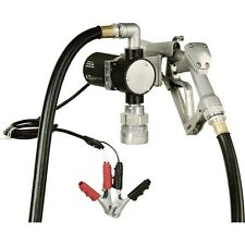 "Fuel Transfer Pump - 1/4 HP - 12 Volt - 8 GPM - Inlet Outlet 3/4"" - 3,000 RPM"